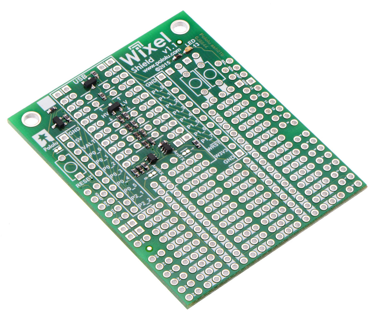 Wixel Shield for Arduino, v1.1
