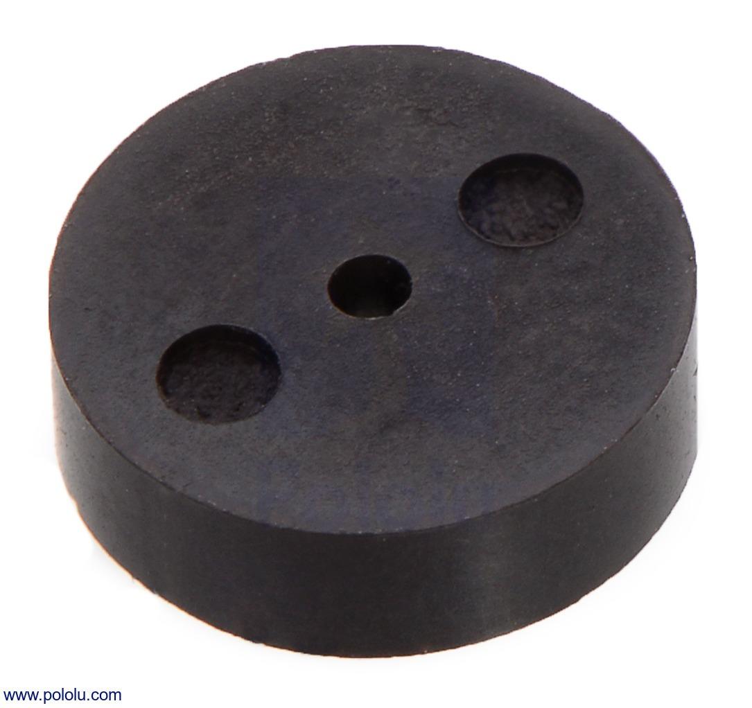 Magnetic Encoder Disc for Micro Metal Gearmotors, 12 CPR (Bulk)