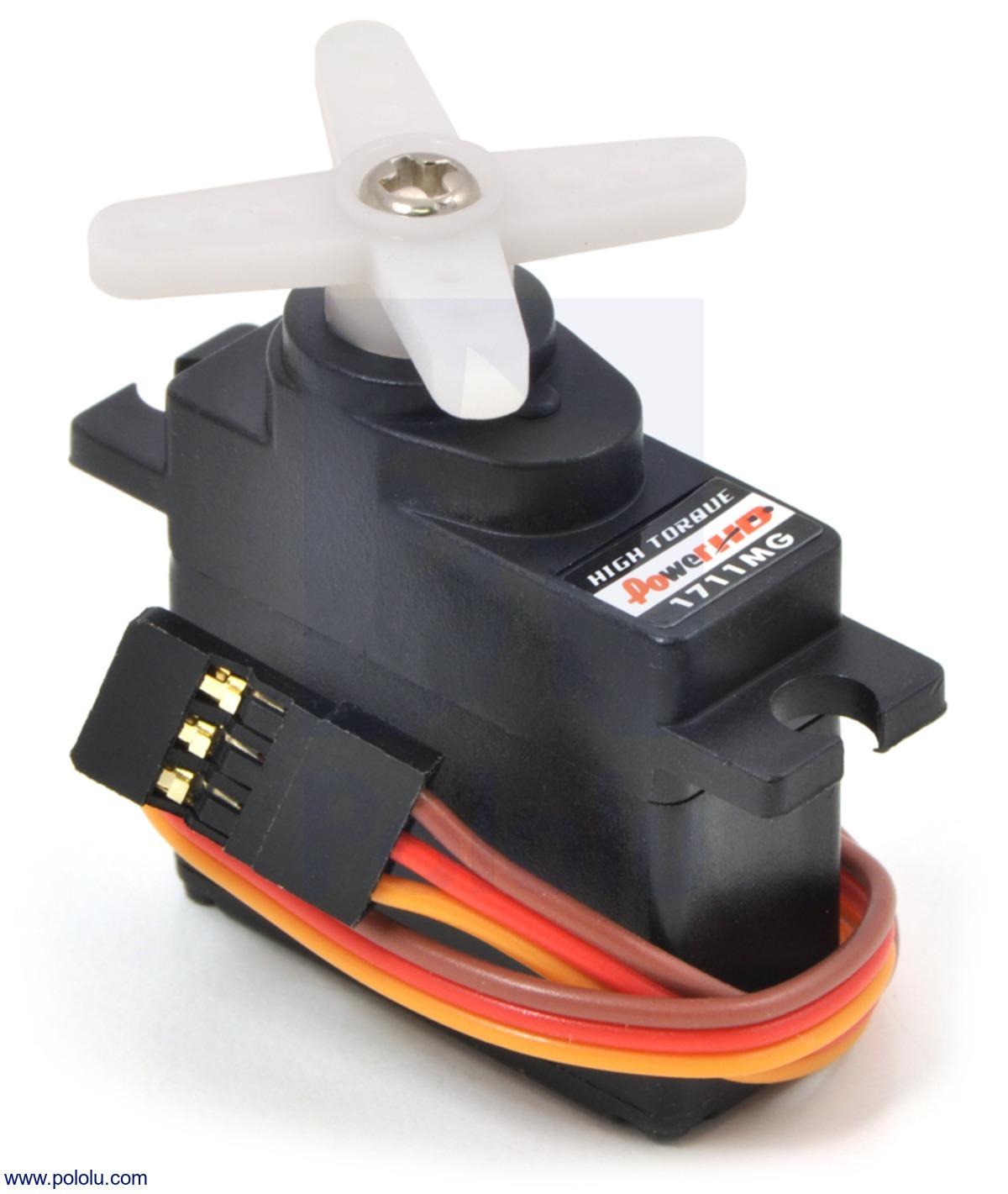 Power HD Mini Servo HD-1711MG