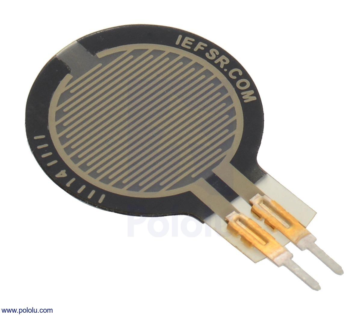 Force-Sensing Resistor: 0.6″-Diameter Circle, Short Tail