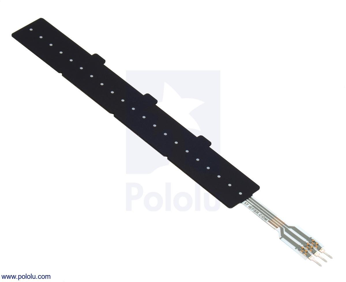 Force-Sensing Linear Potentiometer: 4.0″×0.4″ Strip, Custom