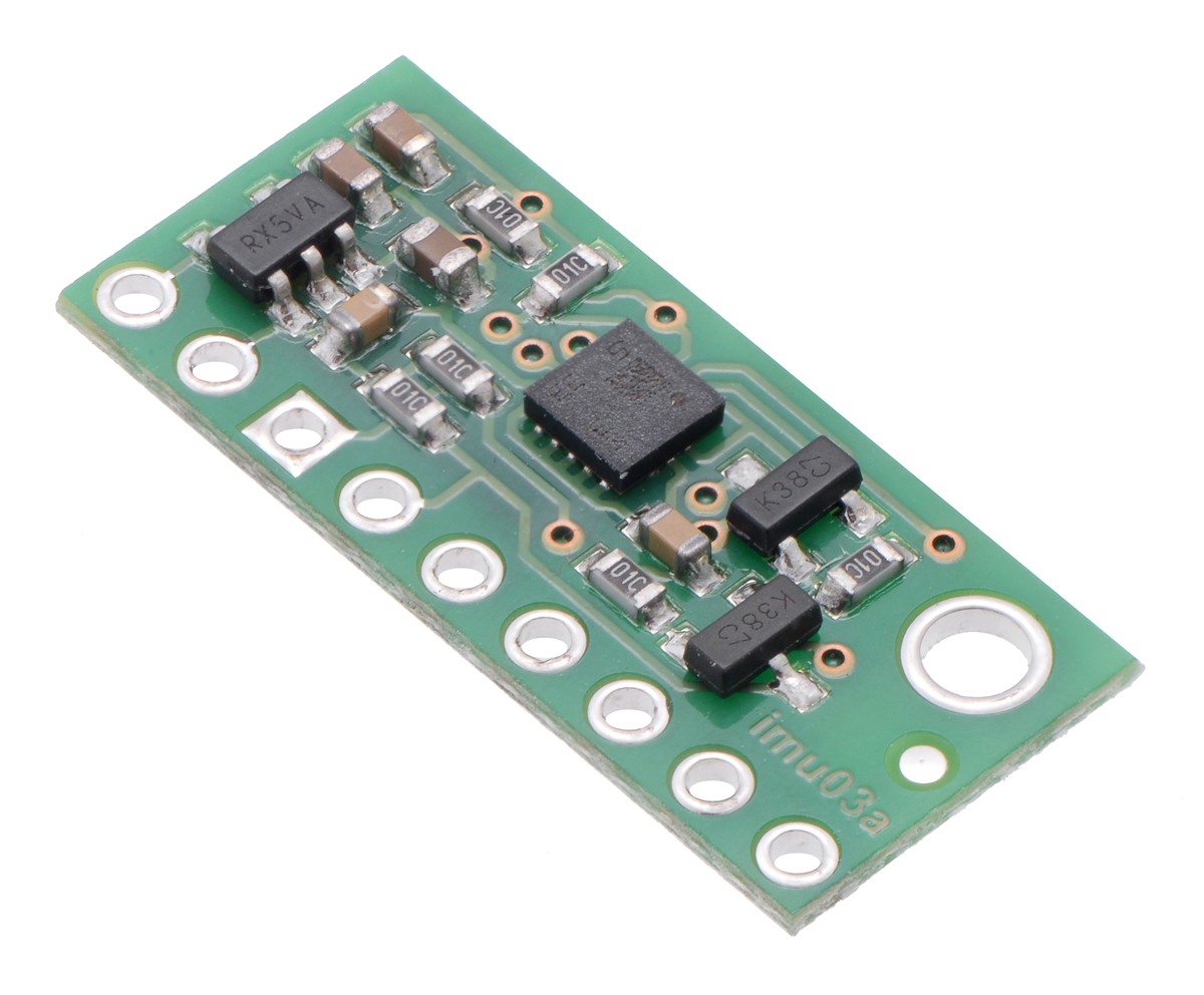 LSM6DS33 3D Accelerometer and Gyro Carrier with Voltage Regulato