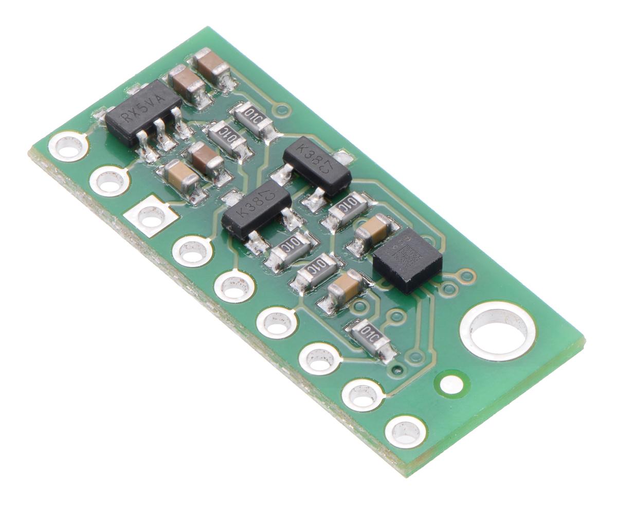LIS3MDL 3-Axis Magnetometer Carrier with Voltage Regulator