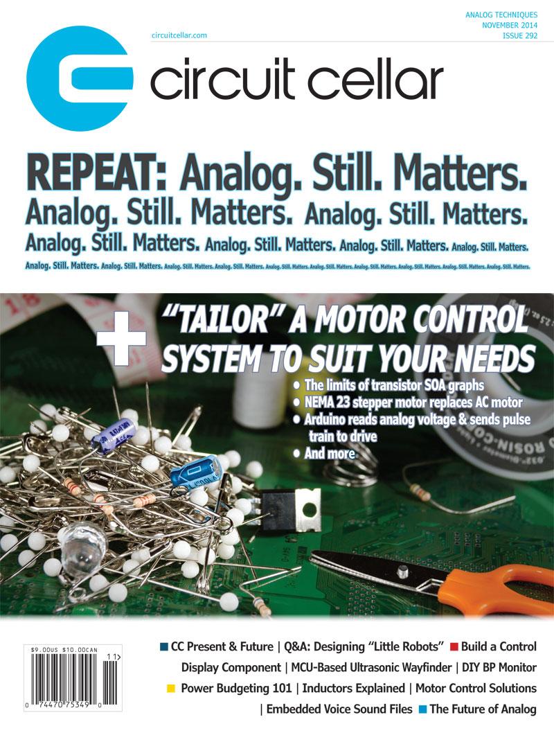 Free Circuit Cellar magazine November 2014