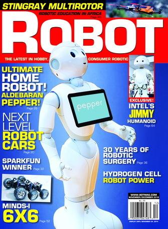 Free Robot magazine November / December 2014