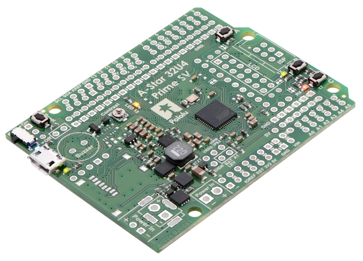 A-Star 32U4 Prime SV (SMT Components Only)