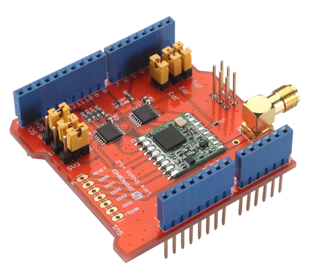 Dragino LoRa Shield - support 433M frenquency