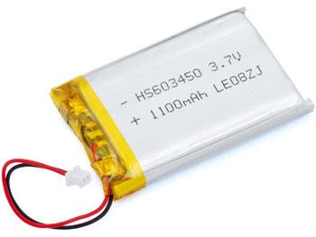 Batteria ai polimeri di litio 3,7 V 1100 mA