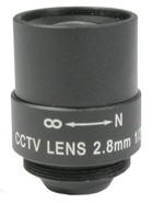 OBIETTIVO f=2.8mm