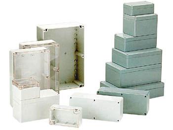 CONTENITORE PLASTICO ABS IP65/NEMA4 265x185x95