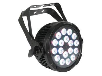 PROIETTORE DMX PAR PRO 18 LED RGB DA 3W