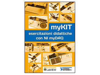 """Libro """"myKIT esercitazioni didattiche con NI myDAQ"""""""