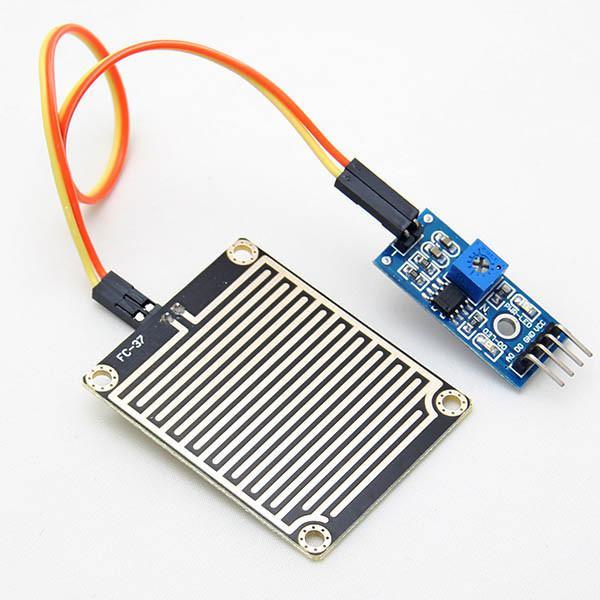 Sensore pioggia con elettronica