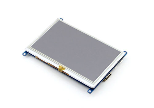 "Display Touch Screen 5"" per Raspberry Pi"
