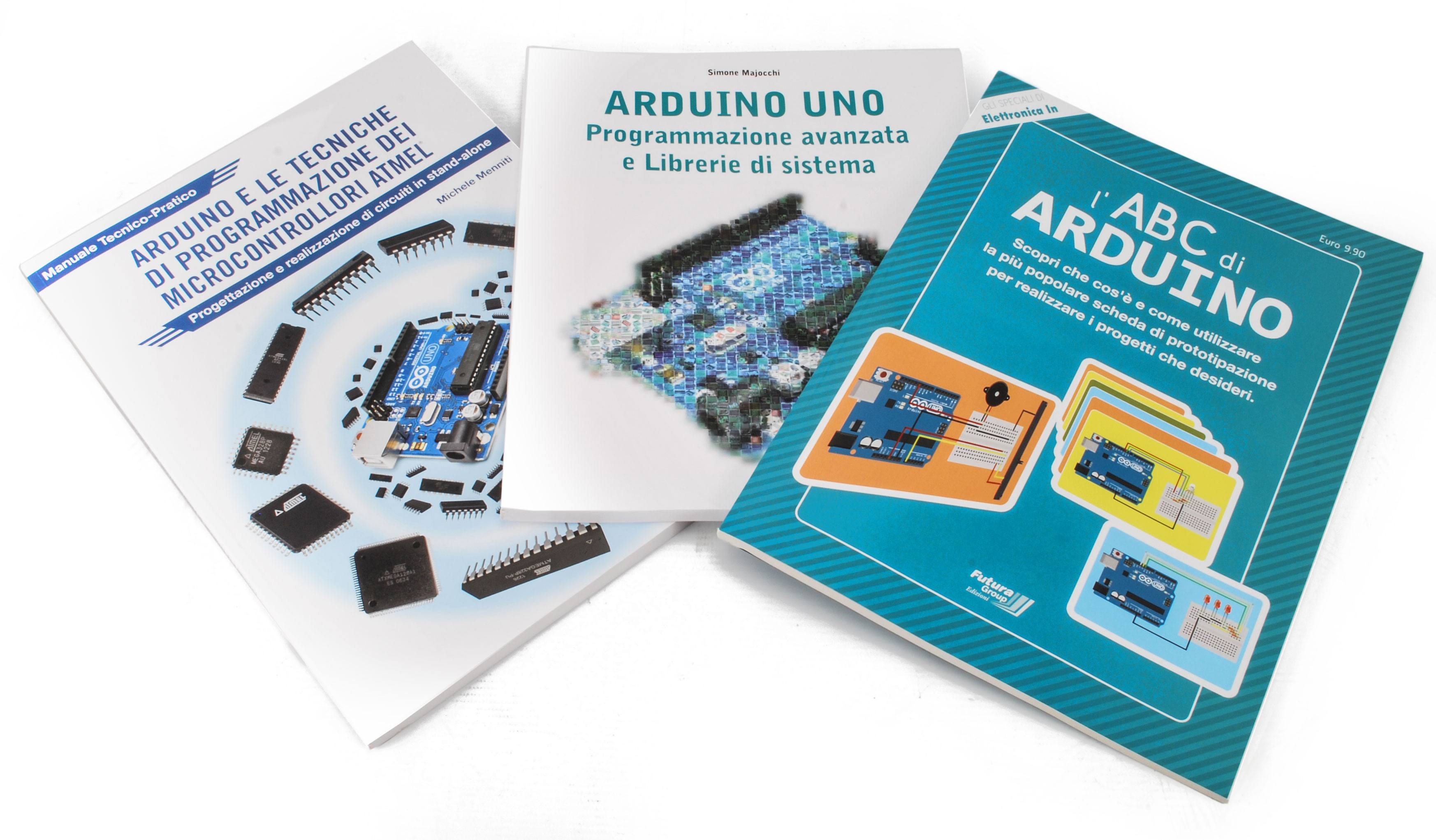 Set tre volumi ARDUINO