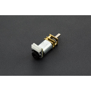Micro DC Geared Motor w/Endoder – 6V 530RPM 30:1