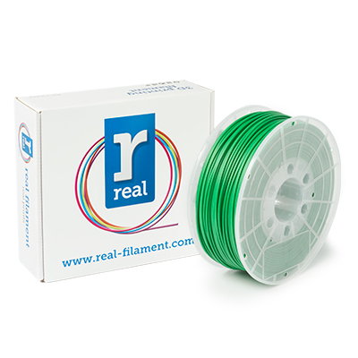 REAL ABS - Green - spool of 1Kg - 3mm