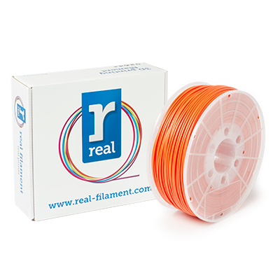 REAL ABS - Orange - spool of 1Kg - 3mm