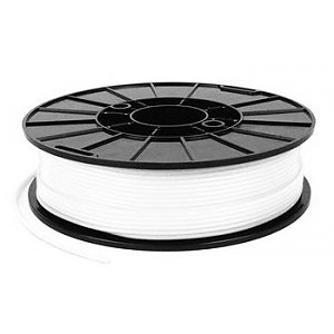 NinjaFlex 3D filament - White (snow) 1.75mm semiflexible TPE - 0