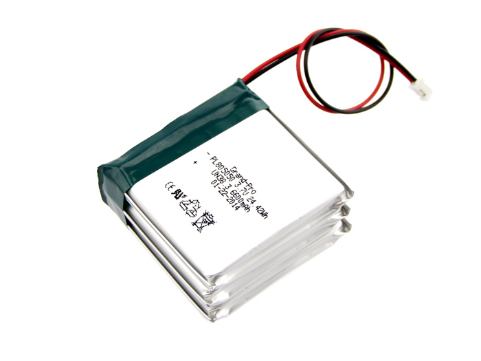 Polymer Lithium Ion Battery - 6600mAh 3.7V