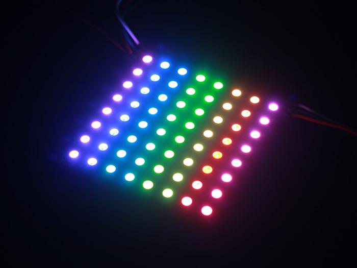 8*8 RGB LED Matrix w/ WS2812B - DC 5V