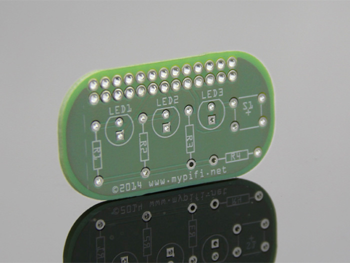 MyPiFi LED Board