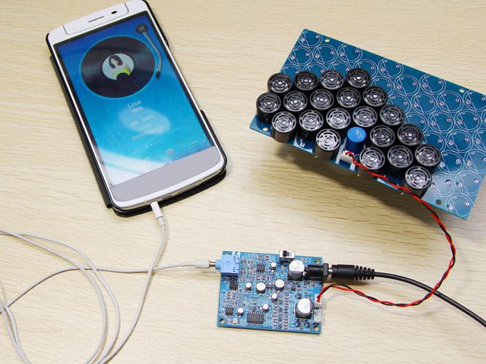 Super directional speaker kit