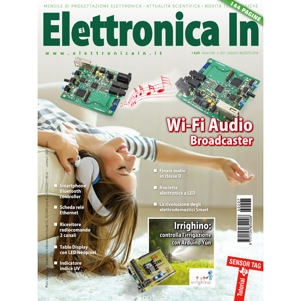 Elettronica In n. 207 - Luglio/Agosto 2016
