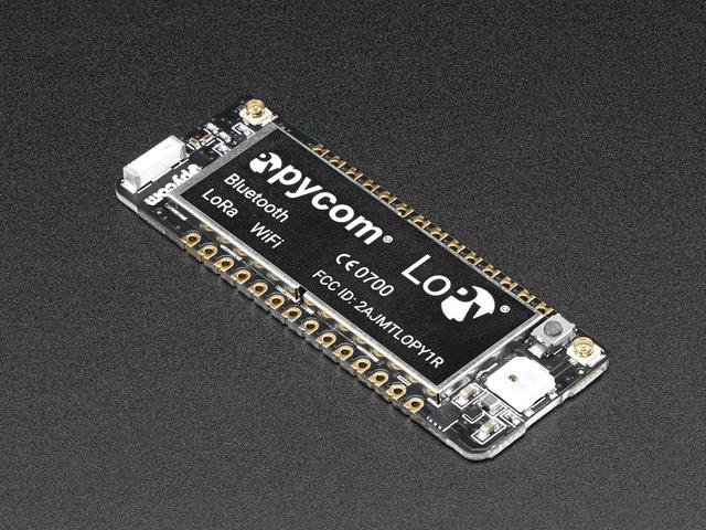 PyCom LoPy 1.0 - LoRa + WiFi + BLE
