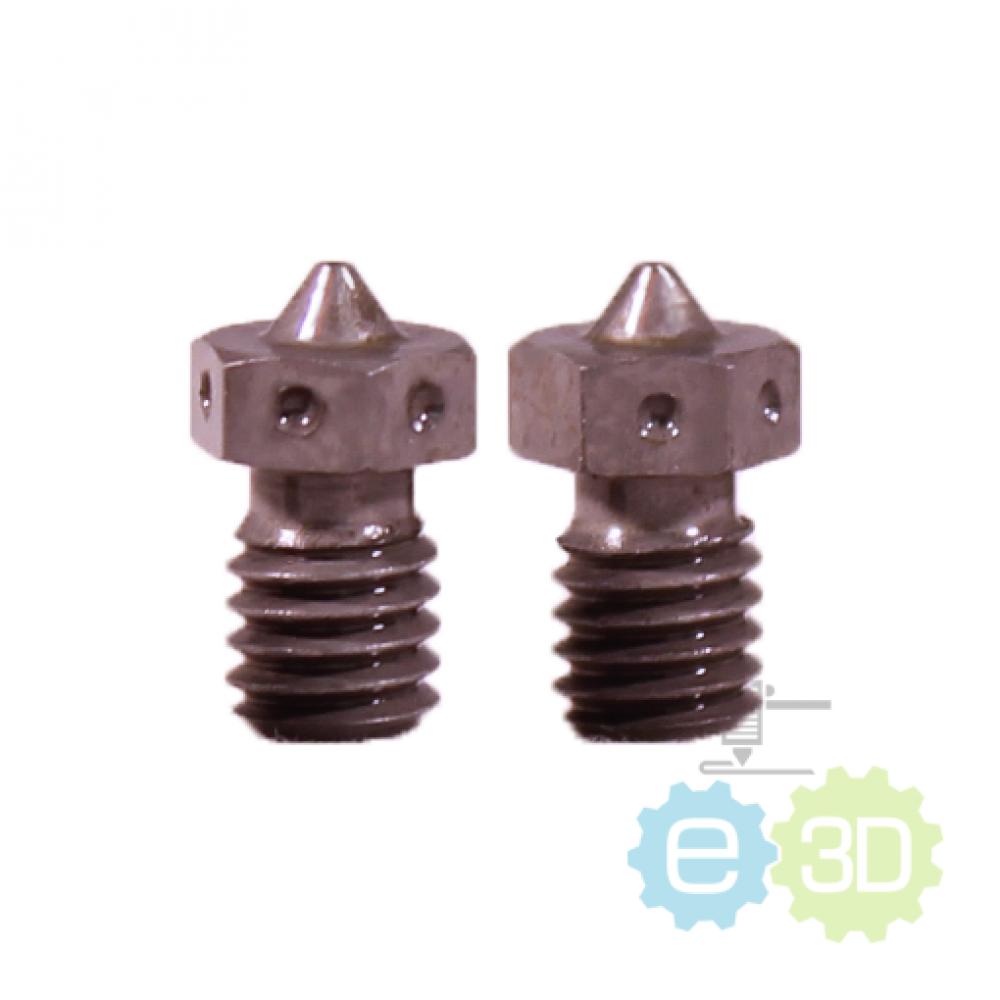 E3D v6 - Hardened Steel Nozzle - 0.60 mm / 1.75 mm