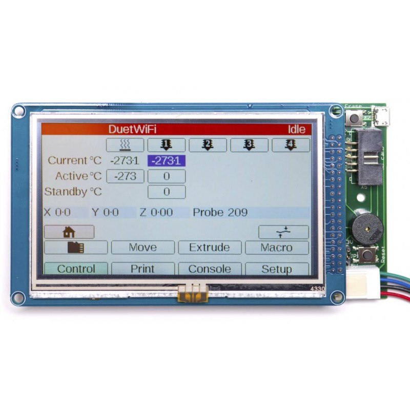 Duet3D - PanelDue controller & cable only