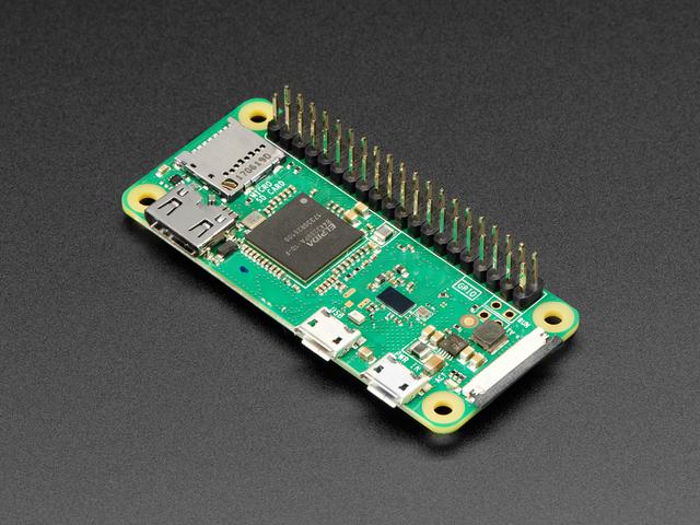 Raspberry Pi Zero WH (Zero W with Headers)