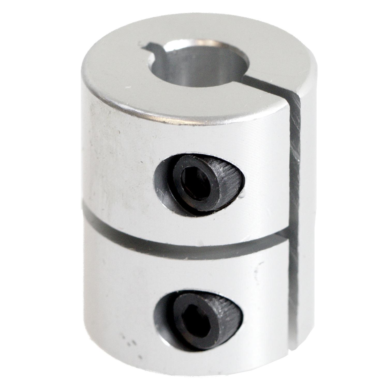 Rigid one-piece motor coupling 6.35 mm / 8 mm