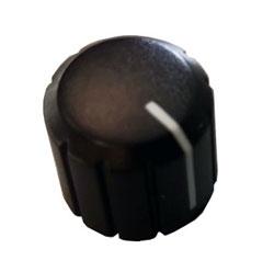 Manopola plastica per potenziometro