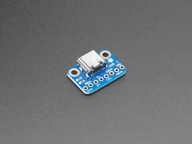 Adafruit USB C Breakout Board - Downstream Connection