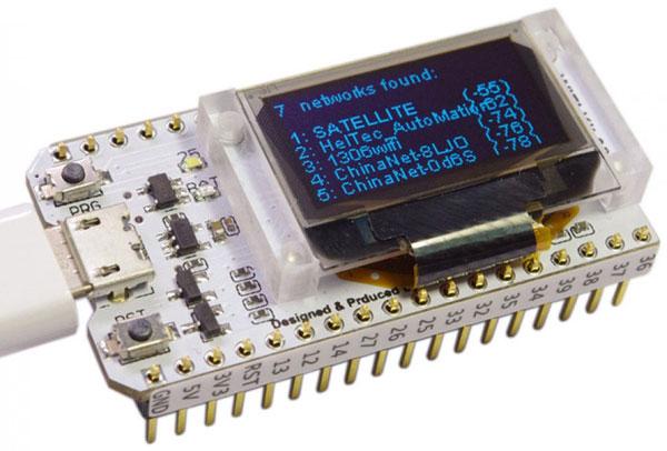"Modulo ESP32 con display OLED 0,96"""