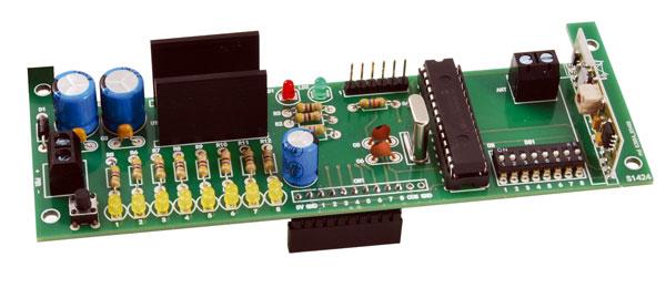 Ricevitore 433 MHz - 8 canali autoapprendiamento - KIT
