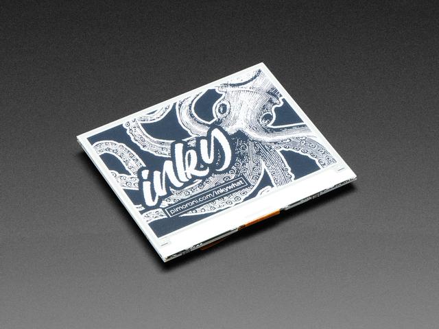 Pimoroni Inky wHAT (ePaper/eInk/EPD) - Black/White