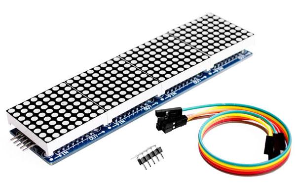 4 Display a matrice 8x8 con MAX7219