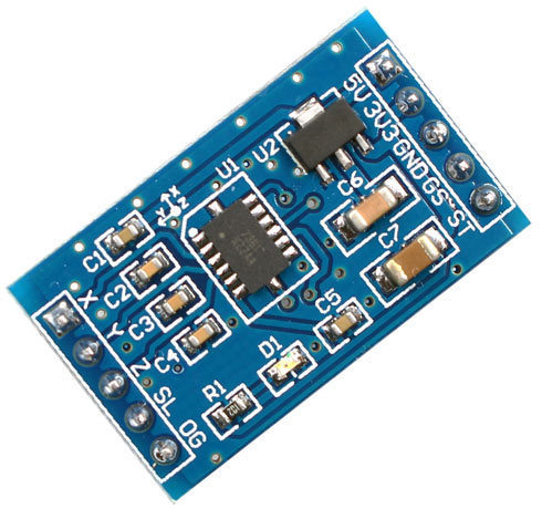 Accelerometro 3 assi con MMA7361L