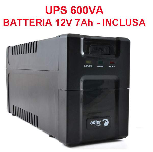 UPS Stand-Alone 600 VA - Onda sinusoidale modificata