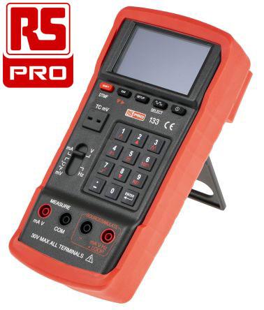 Calibratore di corrente e tensione RS PRO