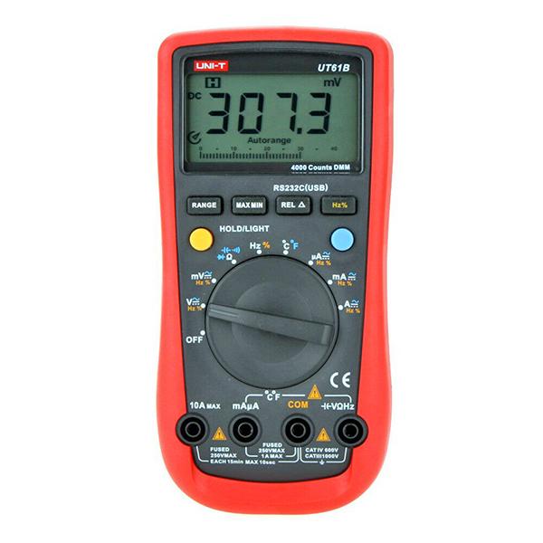 Multimetro digitale autorange a 3 ½ cifre - UNI-T