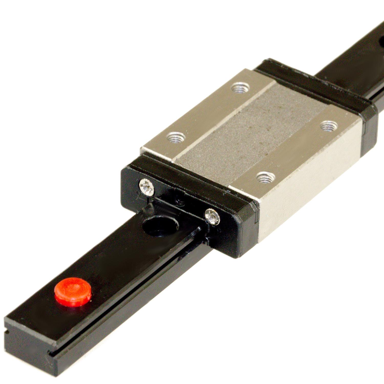 MGN12H Black Square slider ( 40 cm )