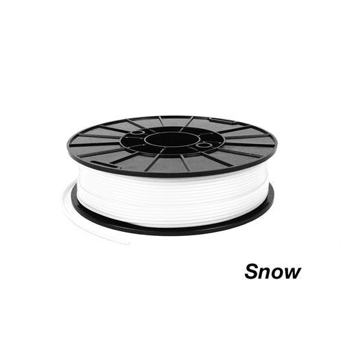 NinjaTek SemiFlex Cheetah 3D TPU filament - White (Snow) 1.75 mm