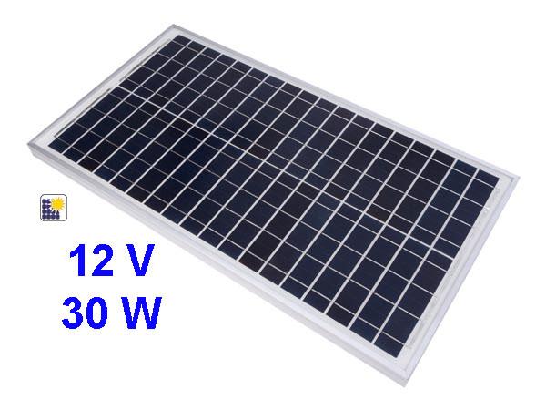 Pannello solare policristallino 12V-30W