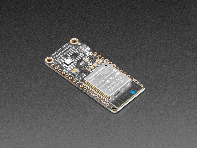 Adafruit AirLift FeatherWing ESP32 WiFi Co-Processor