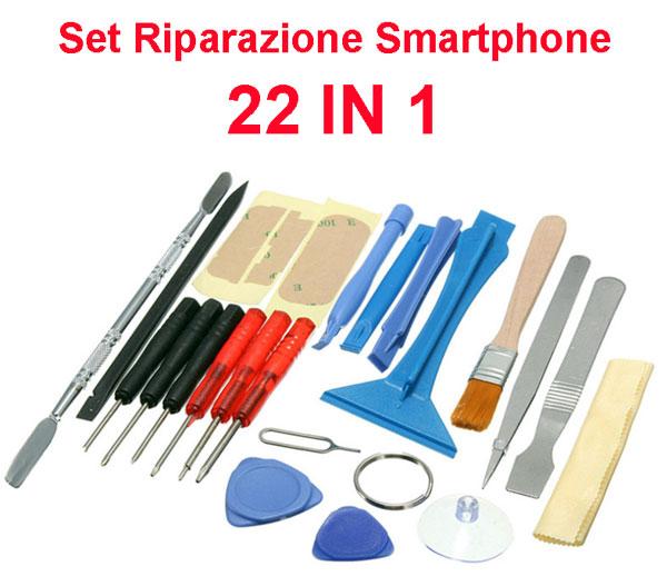 Set riparazione per Smartphone 22 in 1