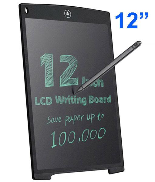 """Taccuino elettronico con display LCD 12"""" - Nero"""