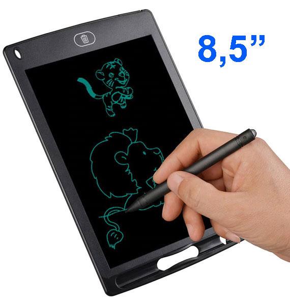 """Taccuino elettronico con display LCD 8,5"""" - Nero"""
